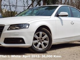 Good as new Audi A4 1.8 TFSI 2012 in Mumbai