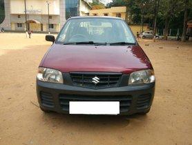 2010 Maruti Suzuki Alto for sale at low price in Bangalore