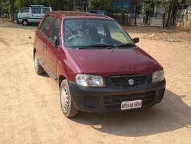 2011 Maruti Suzuki Alto for sale at low price