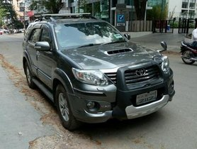 Good Toyota Fortuner 2012 for sale in Bangalore