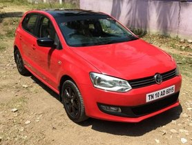 Used Volkswagen Polo Petrol Highline 1.6L 2011 in Chennai