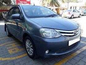 Used 2013 Toyota Platinum Etios car at low price in Bangalore