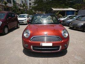 Used 2013 Mini Cooper Convertible car at low price