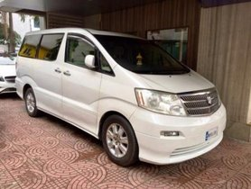 Used 2008 Toyota Alphard car at low price