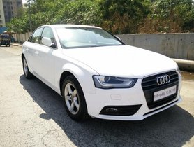Good 2013 Audi A4 for sale at low price in Mumbai
