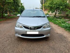 Used Toyota Platinum Etios car for sale at low price