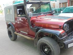 Used Red Mahindra Thar CRDe AC 2011 in Jaipur