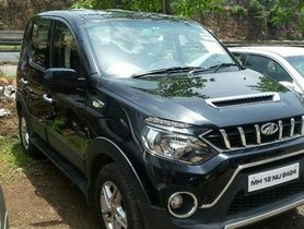Good as new 2017 Mahindra NuvoSport for sale at low price