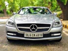 Used 2013 Mercedes Benz SLK car at low price