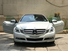 Well-kept 2010 Mercedes Benz E Class for sale at low price
