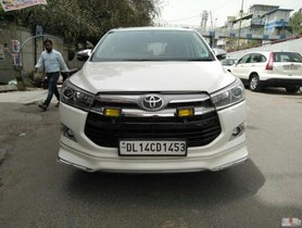 Good 2017 Toyota Innova Crysta for sale at low price