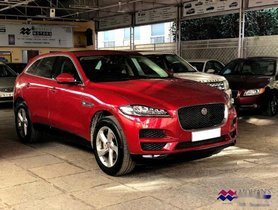 Used Jaguar F Pace car for sale at low price