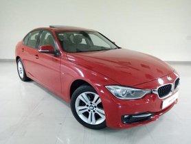Used 2015 BMW 3 Series car at low price