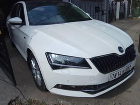 Used 2016 Skoda Superb for sale in Chennai