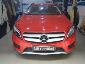 Used 2017 Mercedes Benz GLA Class for sale in Chennai