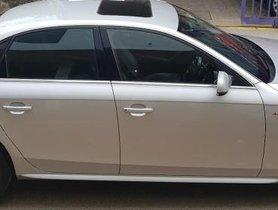 Used 2014 Audi A4 car at low price