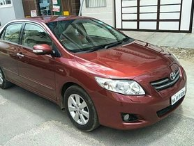 Good as new 2009 Toyota Corolla Altis for sale