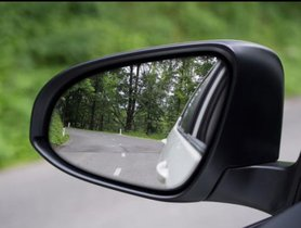 Where are the blind spots of a car?