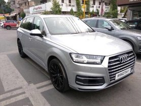 Good Audi Q7 45 TDI Quattro Technology 2018 in New Delhi
