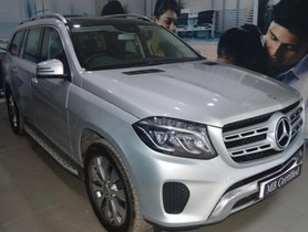 Silver 2016 Mercedes Benz GLS for sale at low price