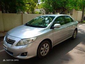 Sedan 2008 Toyota Corolla Altis for sale at low price