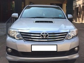 Good as new Toyota Fortuner 2.8 4WD MT 2013 in Chennai