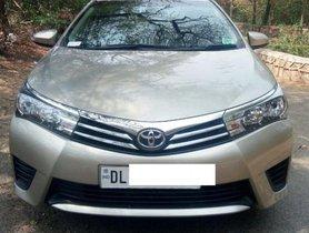 Used 2016 Toyota Corolla Altis for sale in New Delhi