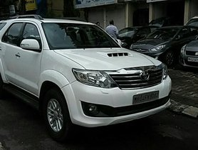 SUV 2012 Toyota Fortuner for sale at low price