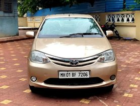 Good as new Toyota Platinum Etios 2012 for sale