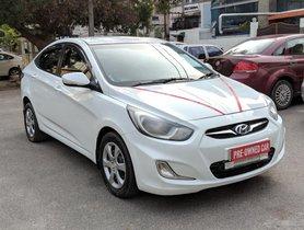 Good Hyundai Verna 1.6 CRDI 2012 by owner