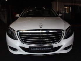 Used 2015 Mercedes Benz S Class car at low price