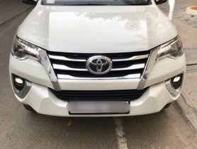 Used 2017 Toyota Fortuner car at low price