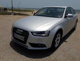White 2014 Audi A4 for sale