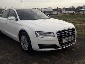Good Audi A8 2015 for sale in Chennai