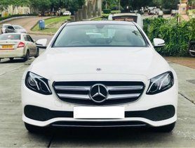 2017 Mercedes Benz E Class for sale at low price