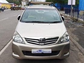 Used 2010 Toyota Innova car at low price