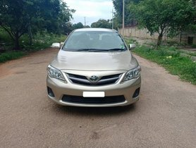 Good as new 2011 Toyota Corolla Altis for sale at low price