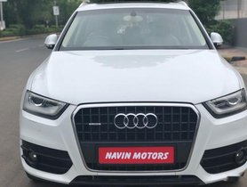 Good as new 2013 Audi Q3 for sale at low price