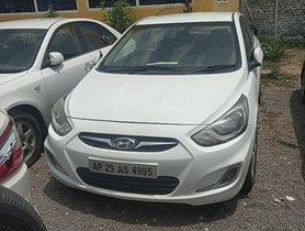 Used 2011 Hyundai Verna car at low price