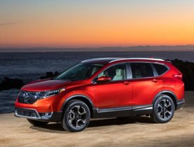 All-New 2018 Honda CR-V to launch in India in October