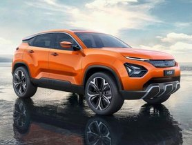 Tata Harrier H5X red color spotted being tested