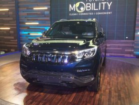 Mahindra G4 Rexton will be the most expensive models from Mahindra