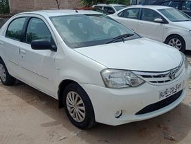 Good 2012 Toyota Platinum Etios for sale