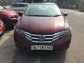 Good Honda City E 2013 for sale at low price