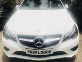 Used 2016 Mercedes Benz E Class car at low price
