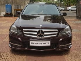 Used 2013 Mercedes Benz C-Class for sale in Mumbai