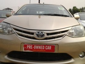 Used 2011 Toyota Platinum Etios for sale at low price