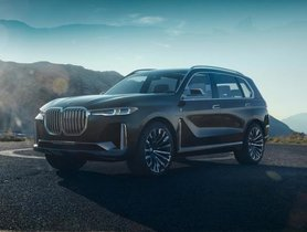 BMW X7 leaked patent images: Exterior and Interior