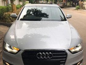 Used 2014 Audi A4 car at low price