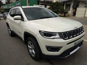 Used 2017 Jeep Compass car at low price
